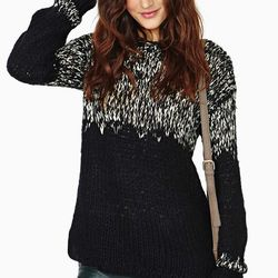 """Twilight hour sweater, $62 at <a href=""""http://www.nastygal.com/clothes%2Dsweaters/twilight%2Dhour%2Dsweater""""target=""""_blank""""> Nasty Gal</a>"""
