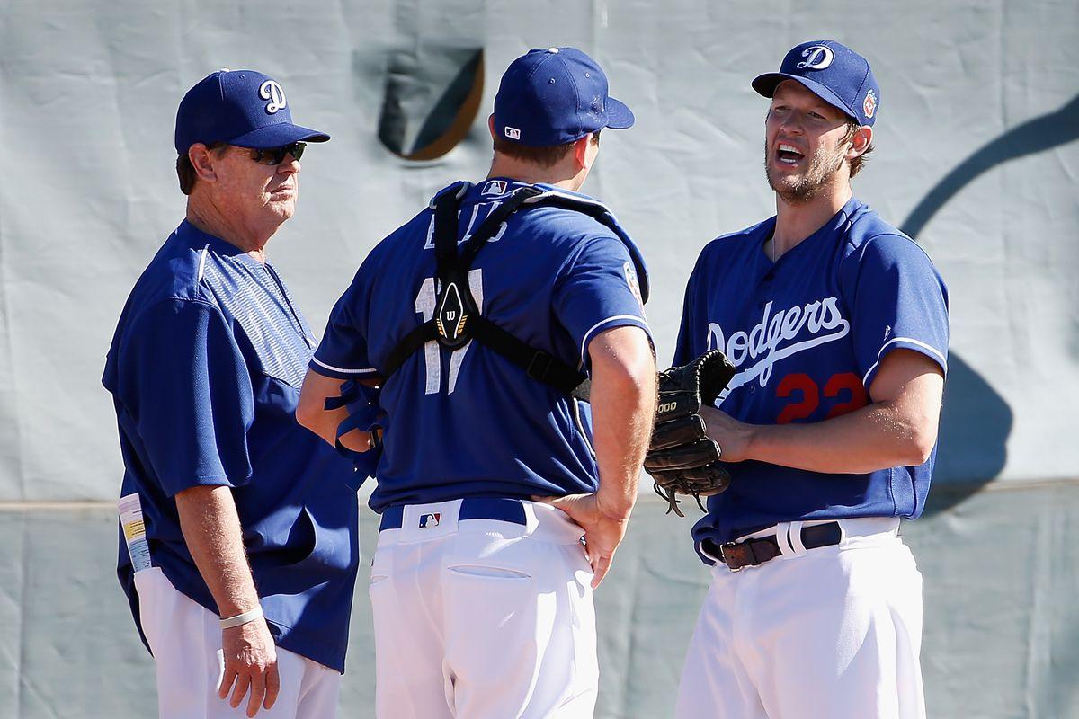 Dodgers spring notes: Clayton Kershaw, Sandy Koufax, ping ...