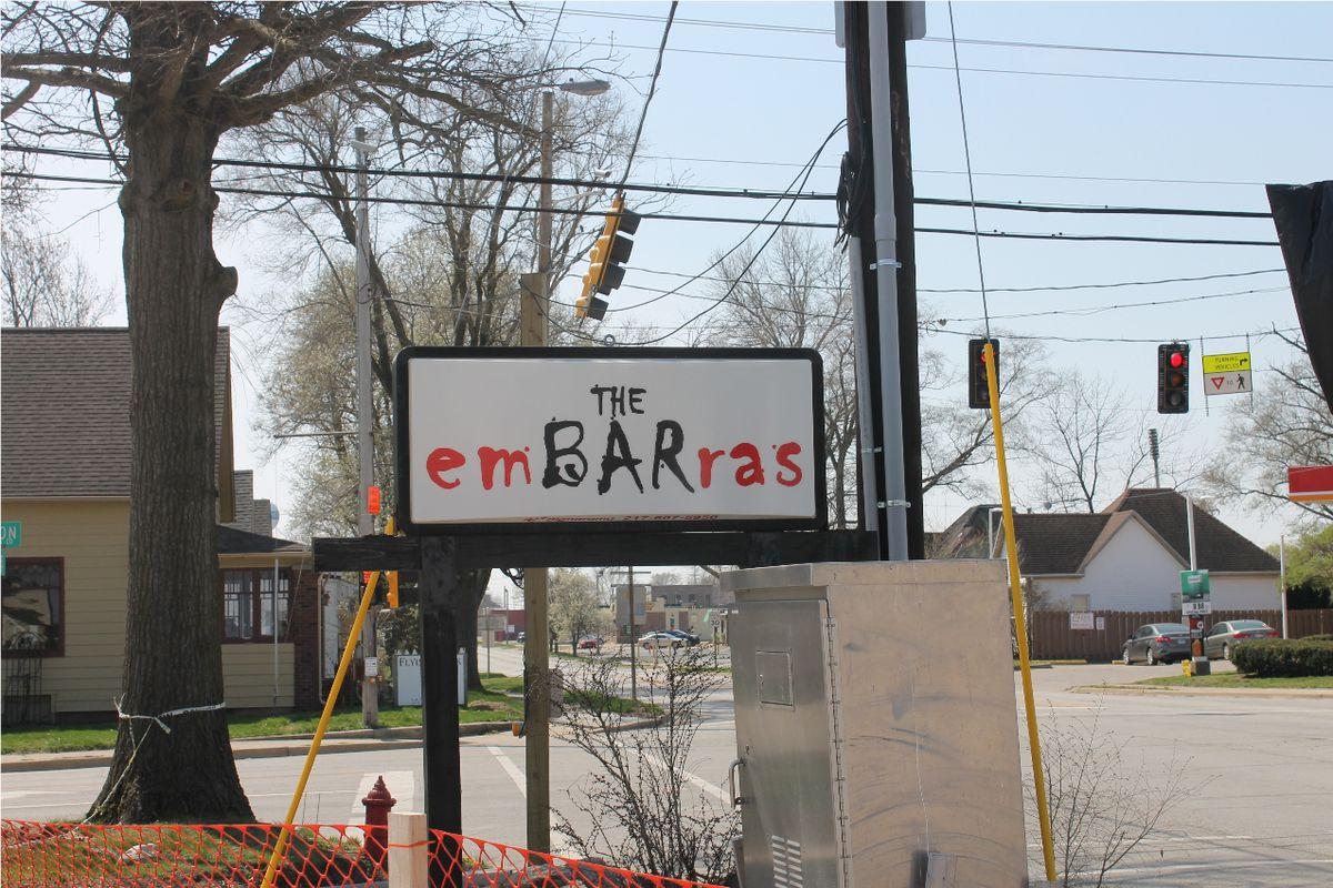 The Embarras bar in Villa Grove, Ill., on Tuesday.