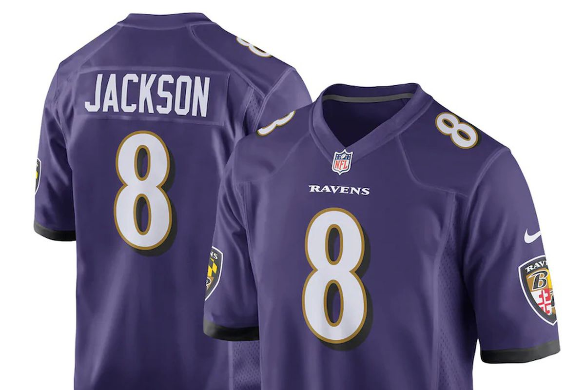 Lamar Jackson jerseys are back in stock and on sale! - Baltimore ...
