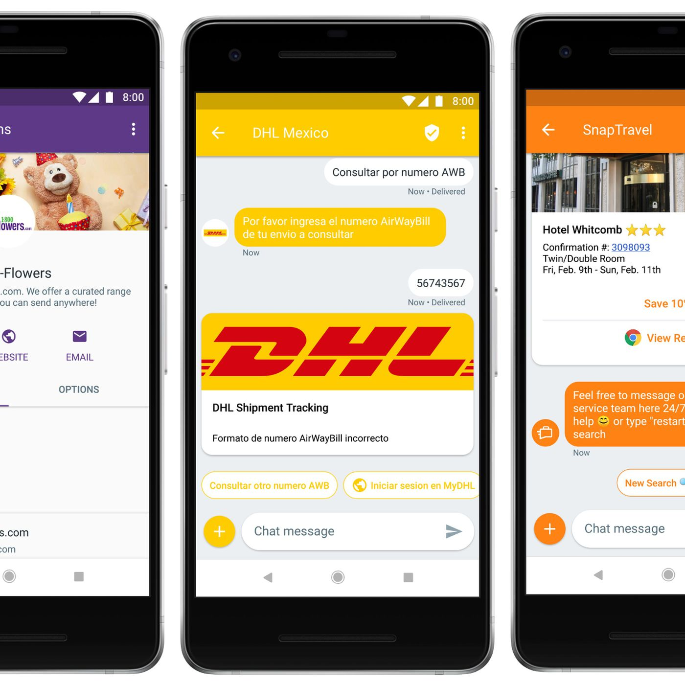 Businesses can now send Android users multimedia texts via RCS - The