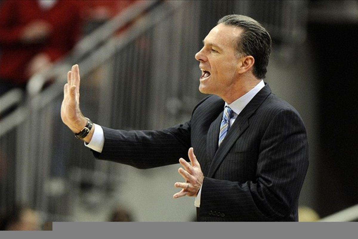 Jamie Dixon got a third commit for the Class of 2012. Credit: Jamie Rhodes-US PRESSWIRE