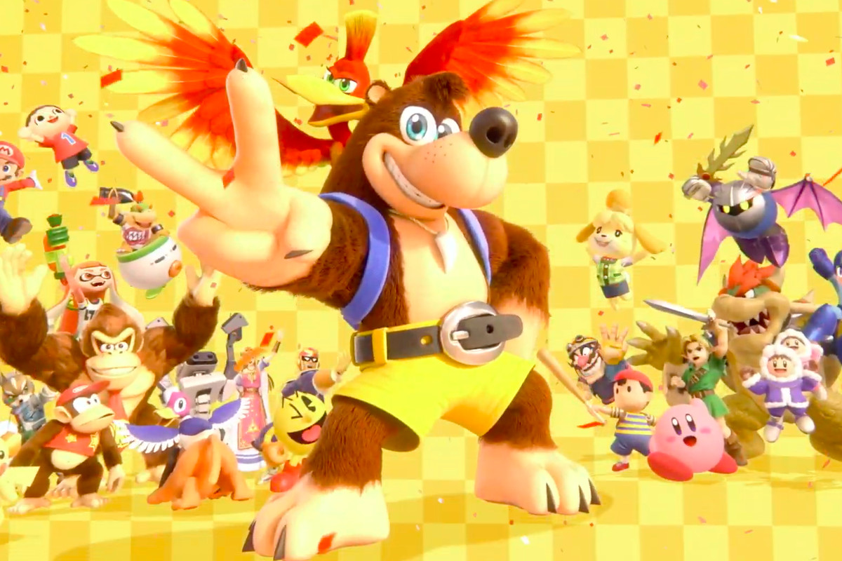 Banjo-Kazooie announced for Super Smash Bros  Ultimate - Polygon