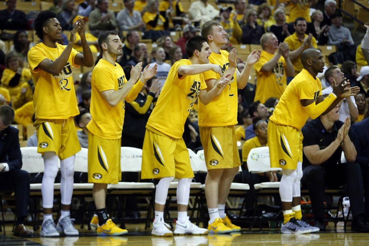 NCAA Basketball: Arkansas at Missouri