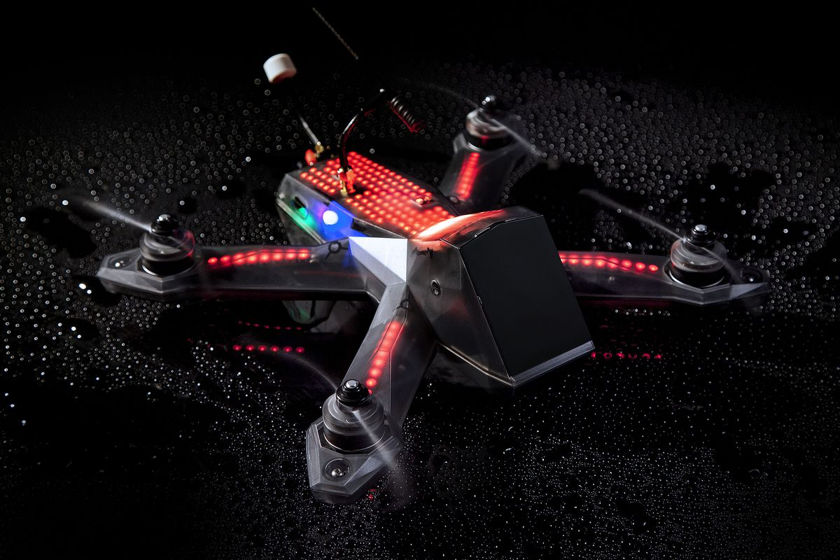 We Took A Spin By The Headquarters Of Drone Racing League This Week To Check Out Newest Version Their Custom Quadcopter DRL Racer3