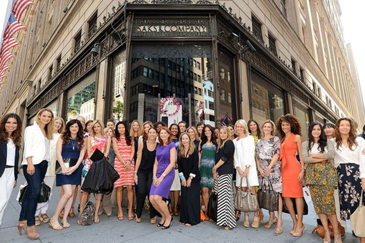 """Image via <a href=""""http://blogs.glam.com/glamblush/2013/07/30/spend-the-day-with-beautys-best-at-saks/"""">Glam.com</a>"""