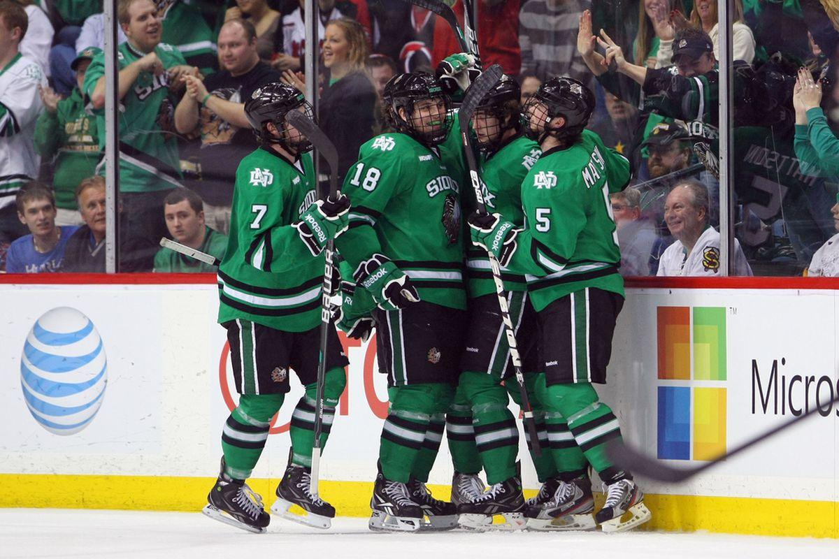 Wisconsin needs North Dakota to advance to the WCHA Final Five
