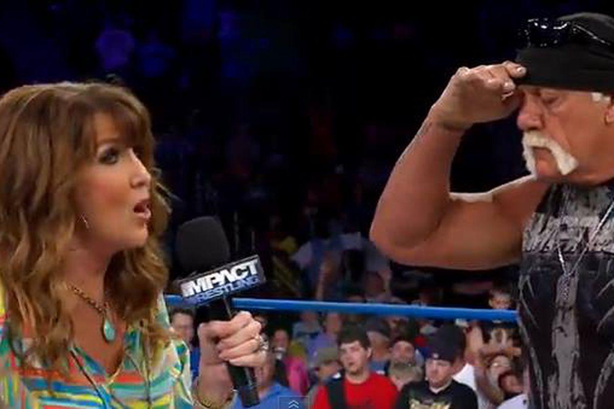 Dixie Carter congratulates Hulk Hogan on Gawker trial