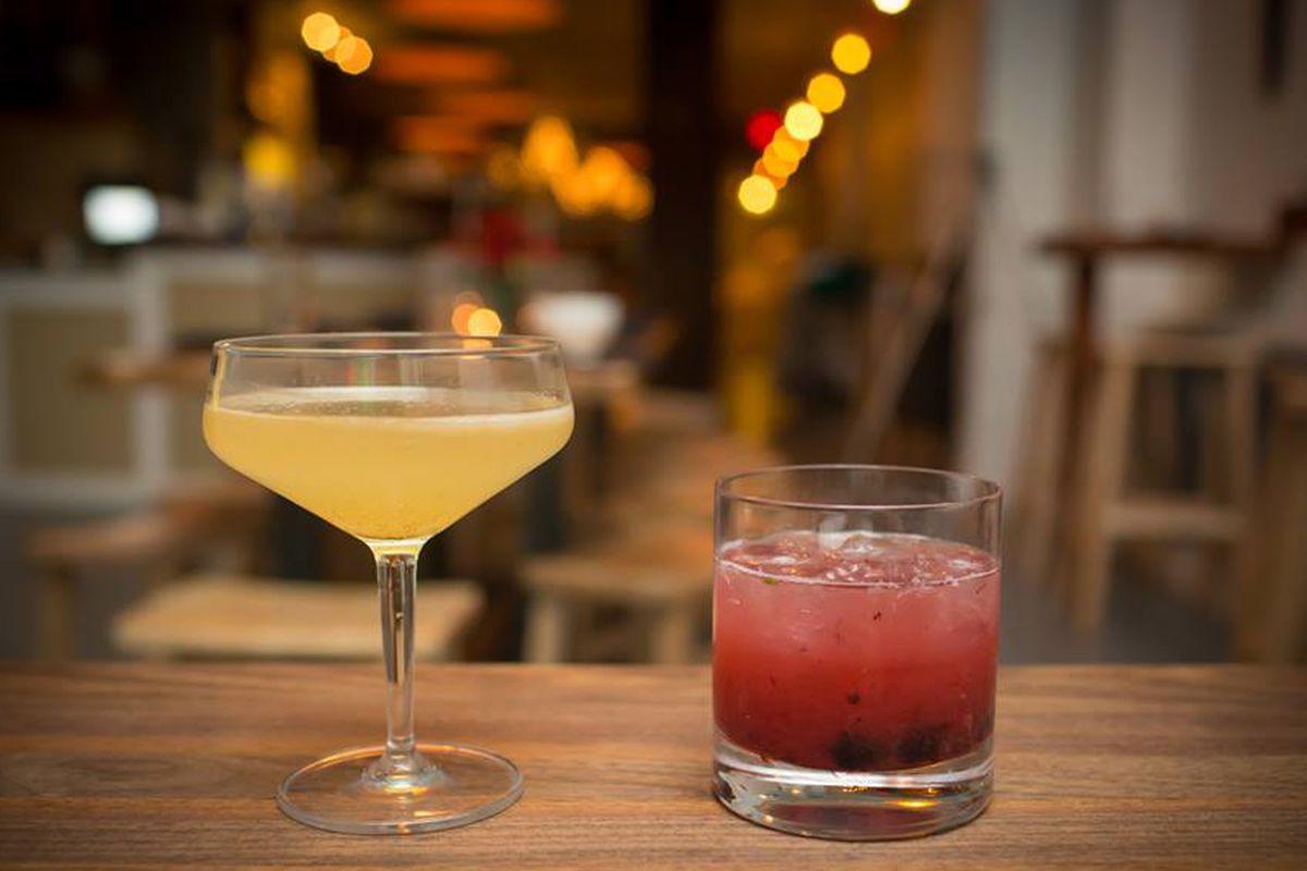 Cocktails at Slipstream.