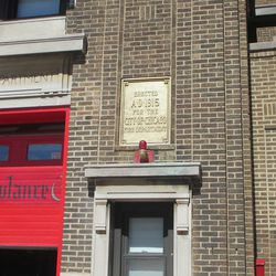 The Waveland firehouse, Engine 78, is 100 years old this year -