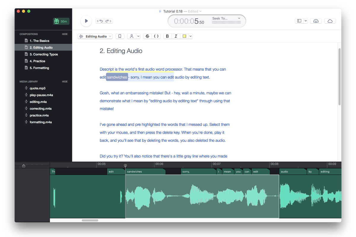 Groupon founder's new app Descript edits audio files directly from