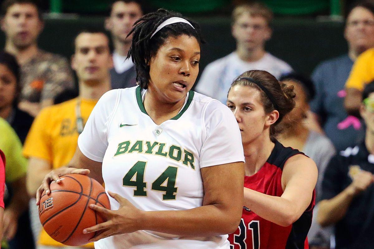 Baylor Bears forward/center Kristina Higgins