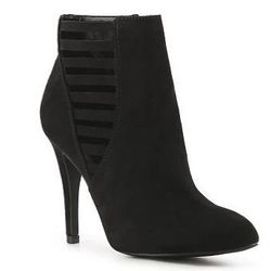 """""""I'm a big fan of wearing booties during the fall and winter. They lengthen the legs and are a great alternative to traditional boots for my clients with larger calves. I love the multi cutout detail of these Kelly and Katie April booties."""" (<a href=""""http"""