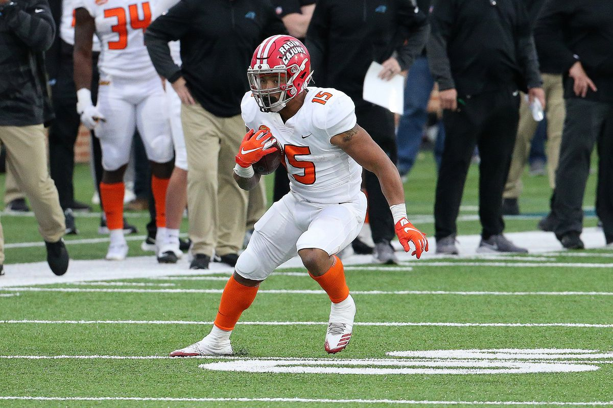 With their final selection in the 2021 NFL Draft, the 49ers select RB Elijah  Mitchell - Niners Nation
