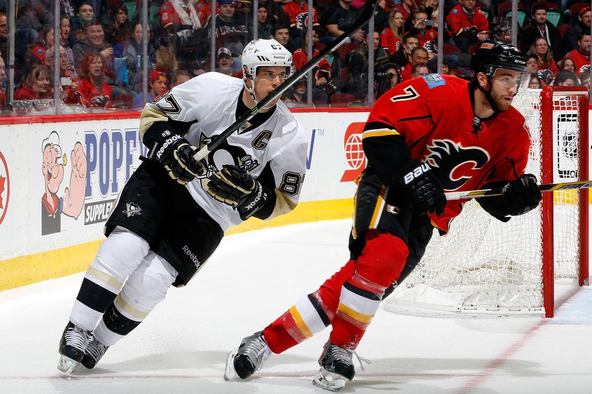 Pittsburgh Penguins v Calgary Flames