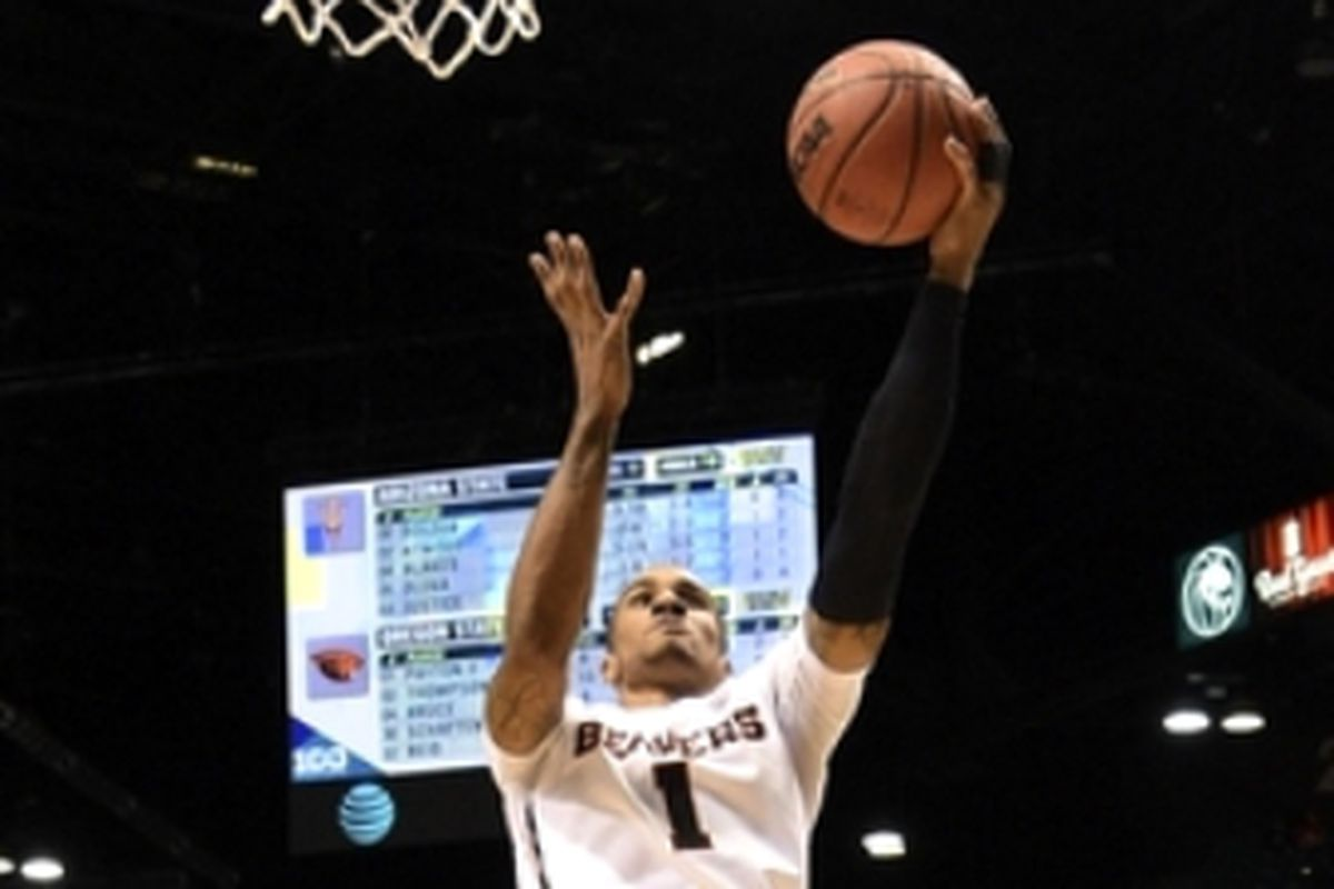 Gary Payton II will be looking for points, and to beat the Bears, tonight in the Pac-12 Tournament.