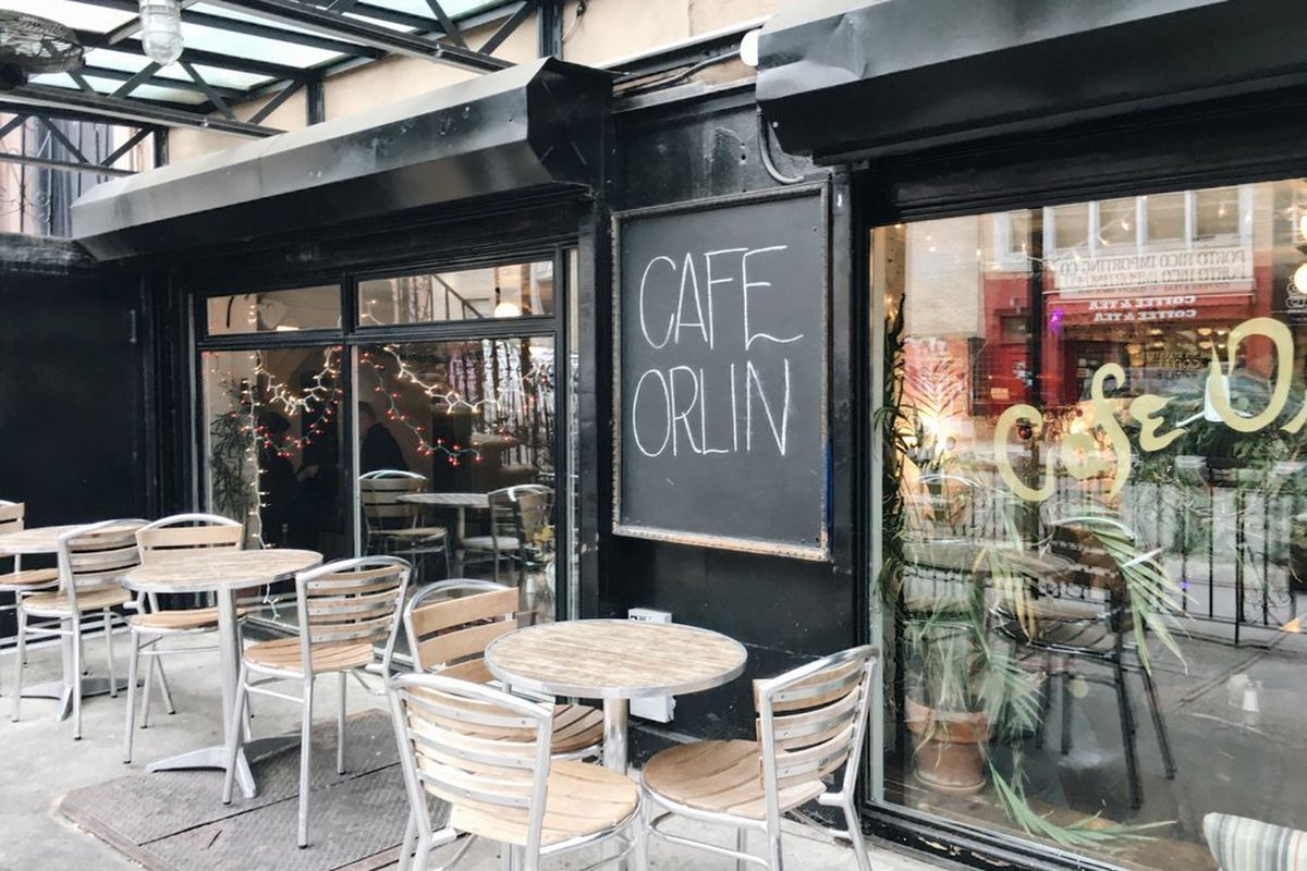 Cafe Orlin Menu New York Ny