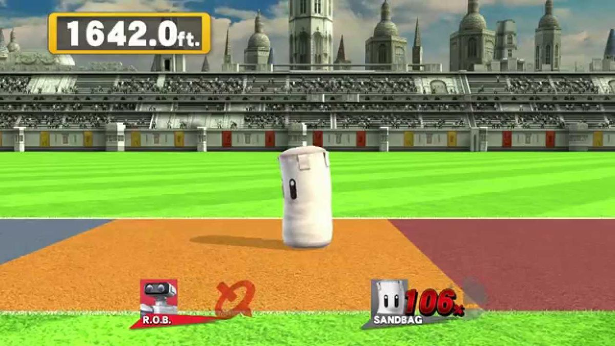 Home Run Contest from Super Smash Bros. for Wii U