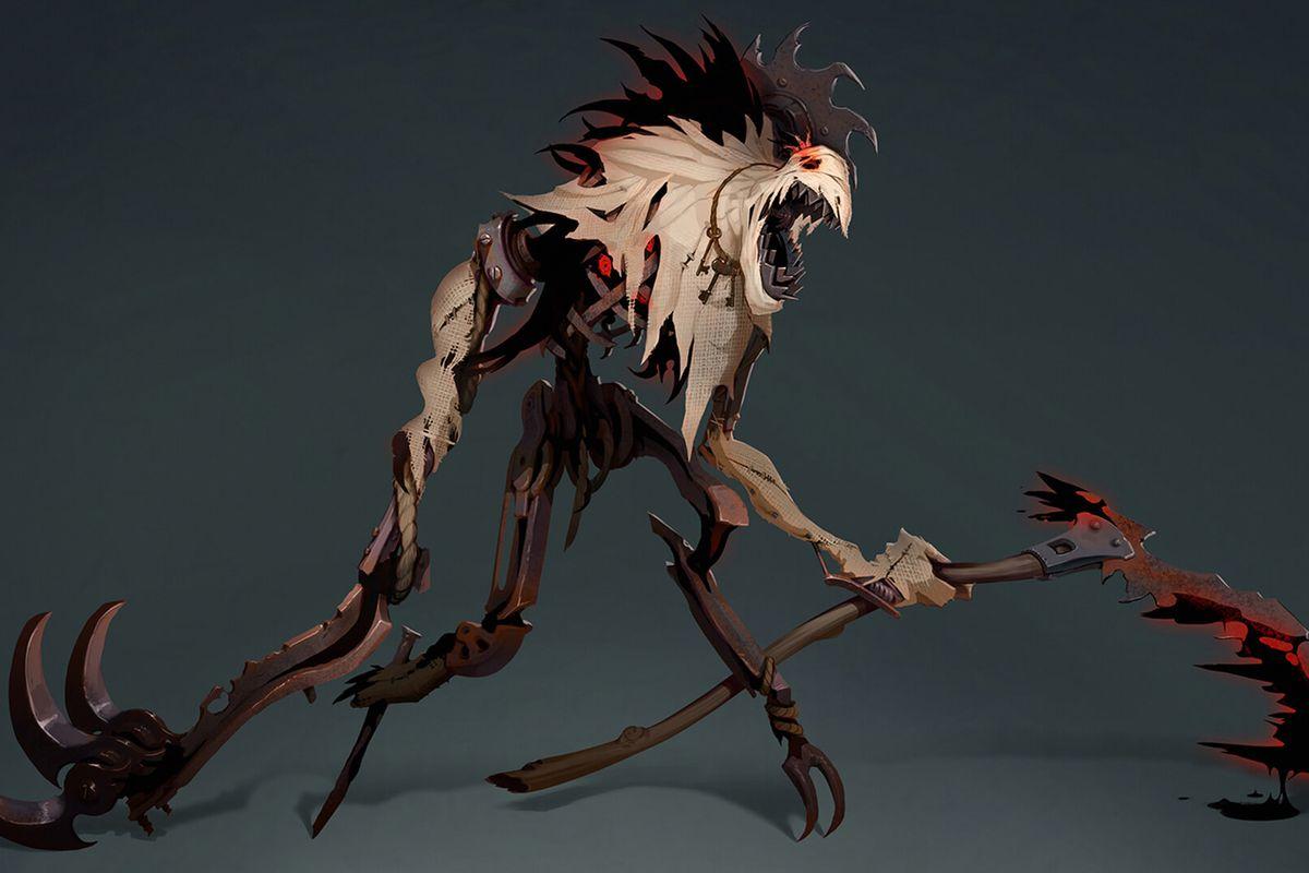 A model for Fiddlesticks' visual update in League of Legends