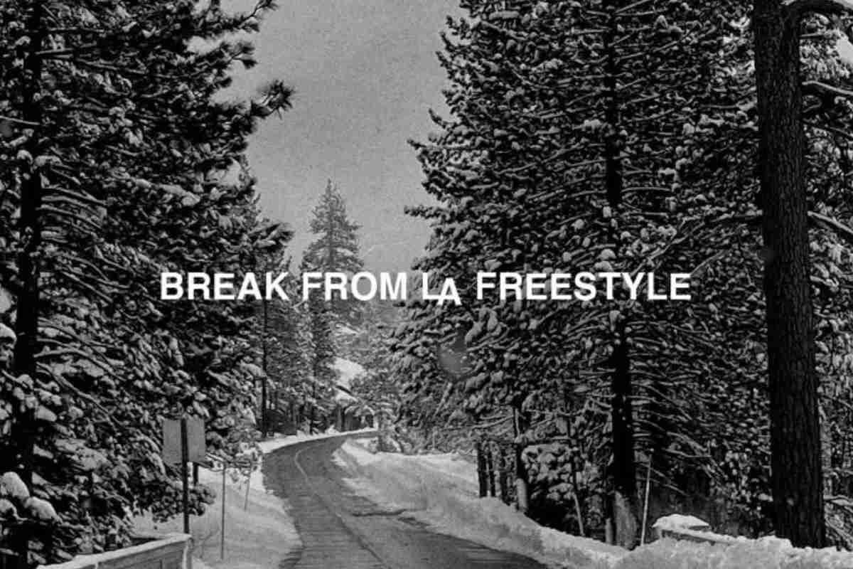 """G-Eazy's """"Break From LA Freestyle"""" artwork"""