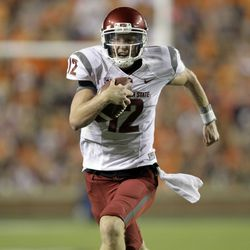 Connor Halliday was able to scramble for a few first downs