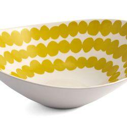 "<span class=""credit""><b>Thomas Paul</b> Lotta Redig Serving Bowl at <b>Lekker Home</b>, <a href=""http://www.lekkerhome.com/Tabletop/Novelties/Lotta-Redig-Serving-Bowl.html#.UozNWmSxPhk"">$45</a></span><p>"