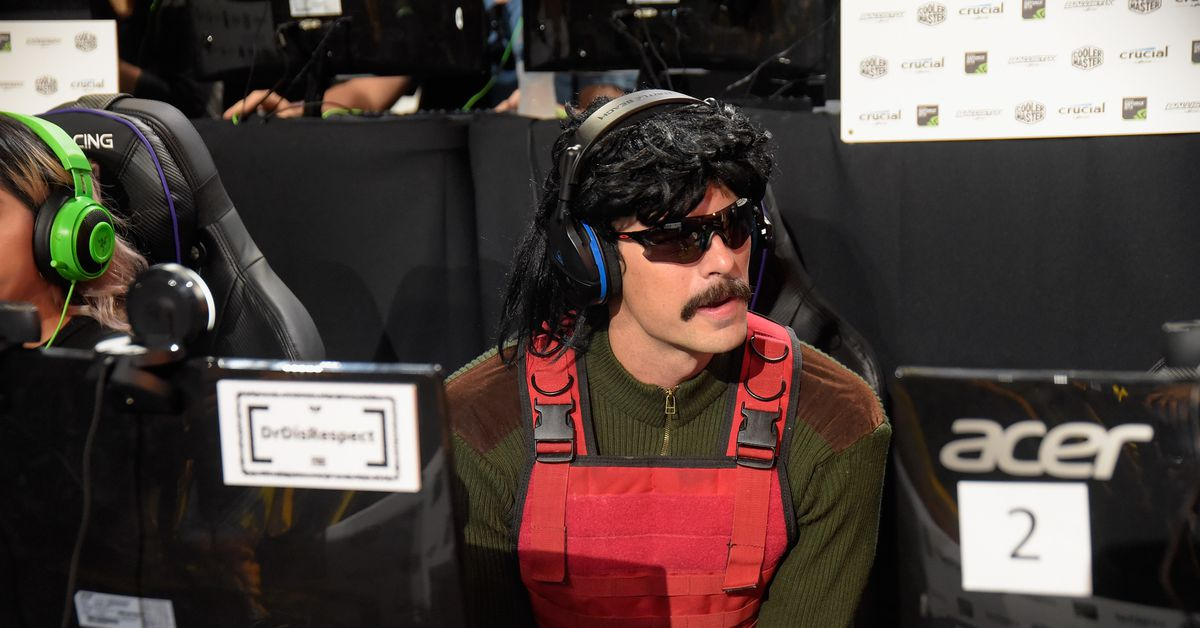 Dr Disrespect and other creators keep hiding their apologies
