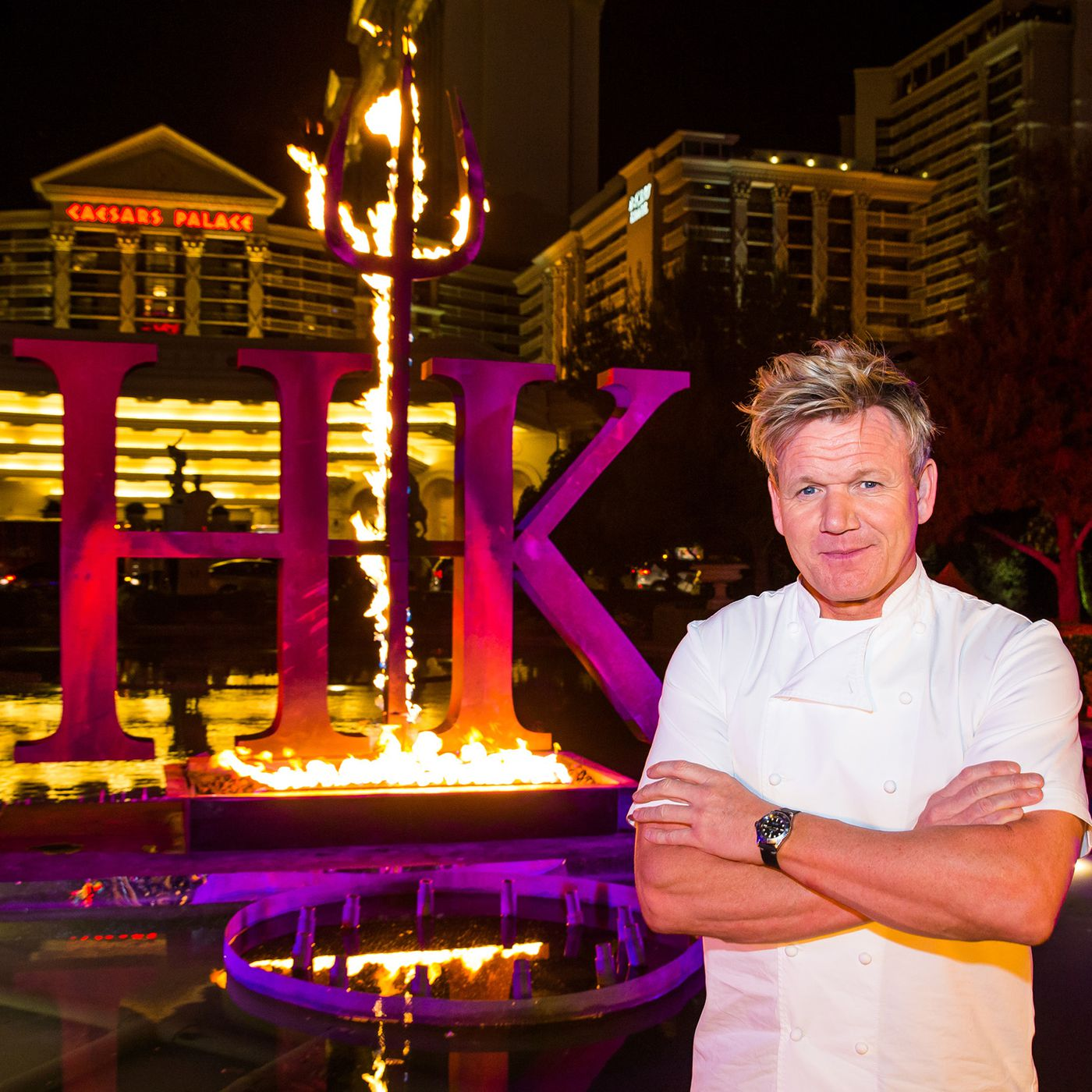 Gordon Ramsay Announces A Hells Kitchen Themed Fifth Las Vegas Restaurant