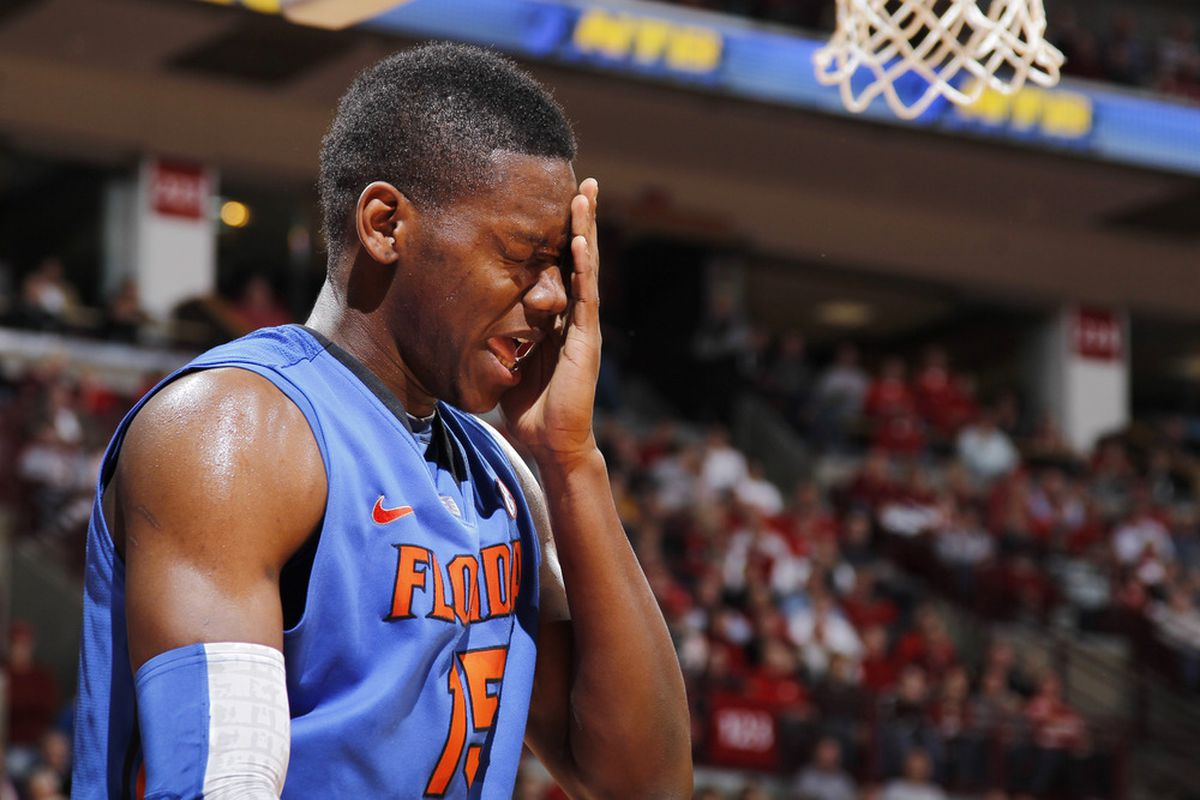 """Florida won't have Will Yeguete tonight due to """"concussion-like symptoms."""""""
