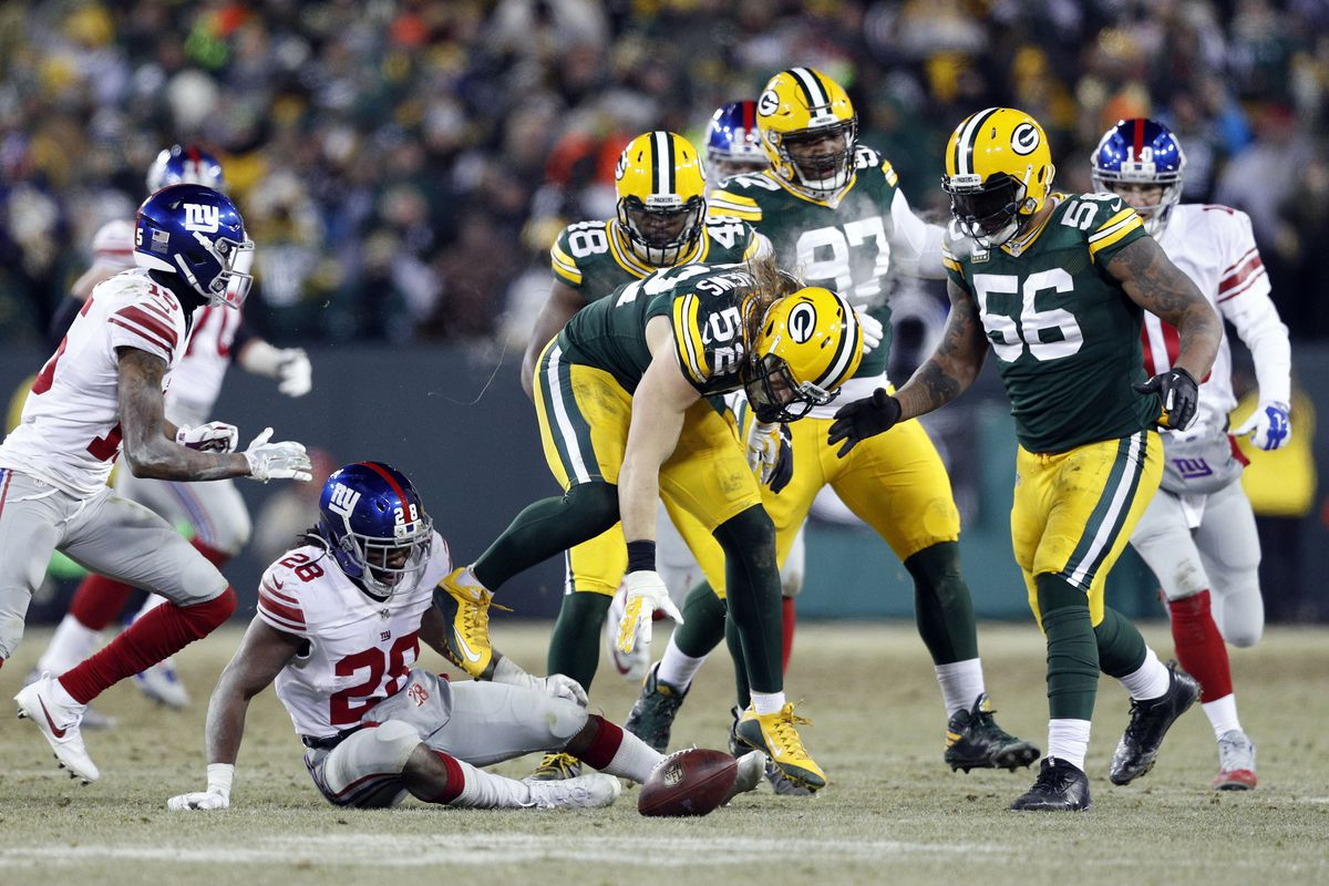 Packers top plays of 2016 No 8 Clay Matthews forces 2 fumbles