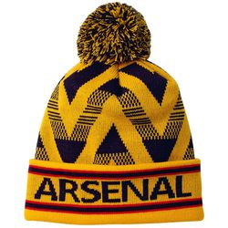 """<a class=""""ql-link"""" href=""""https://arsenaldirect.arsenal.com/Mens/Accessories/Hats-%26-Caps/Arsenal-Bruised-Banana-Beanie/p/N01246"""" target=""""_blank"""">Bruised Banana Beanie</a>. As I said, I'm a sucker for the bruised banana. Perfect for the Gooner who is often cold. From Arsenal.com."""