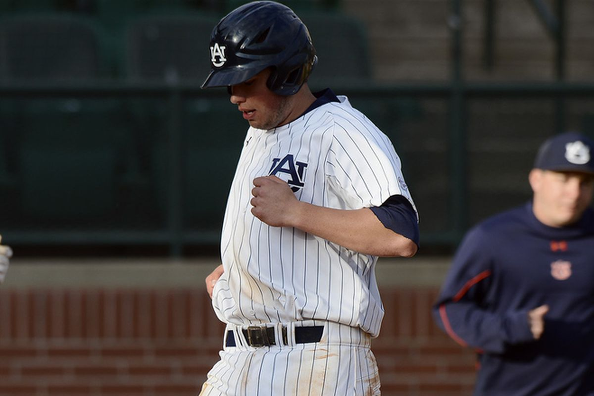Damek Tomscha had a nice day at the plate for the Tigers.