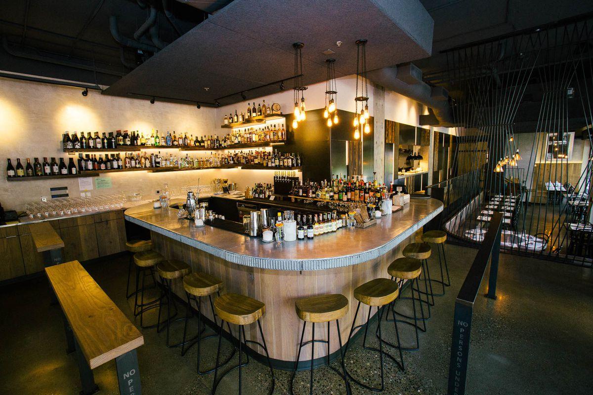 The bar at Naka.