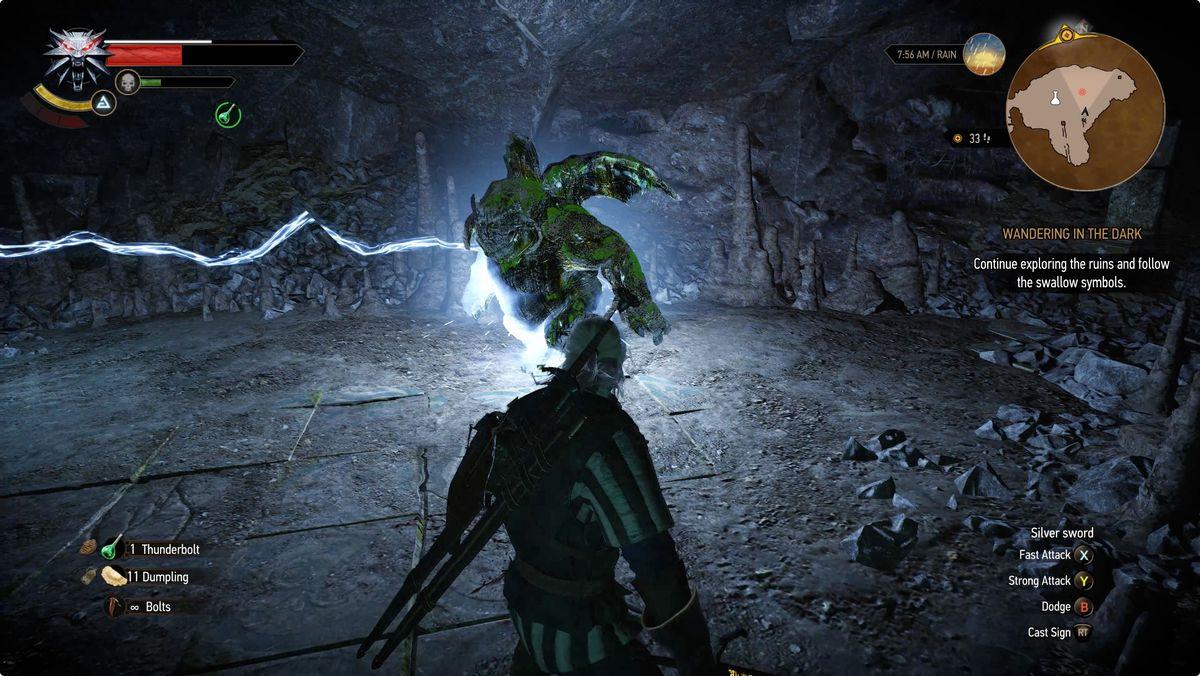 Witcher 3 Wandering in the Dark Gargoyle
