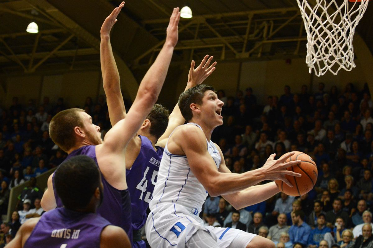 1ec23c2d0344 Duke Romps Past Furman