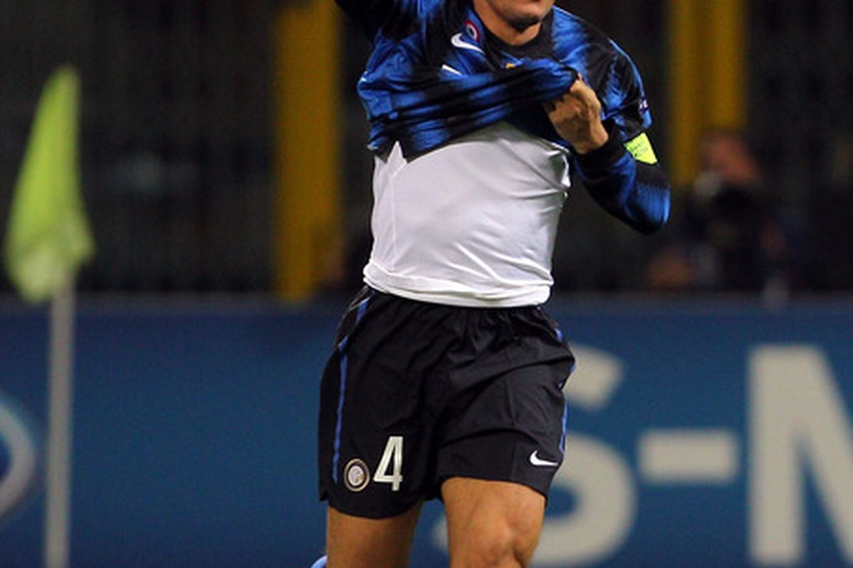 This guy scored in 70 seconds at the San Siro. Let's prevent that.