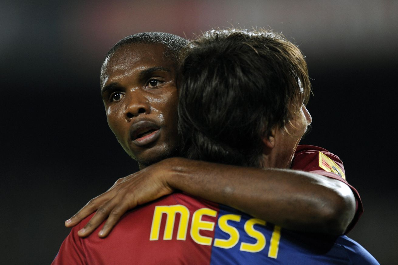 Messi sends message to retiring Eto?o