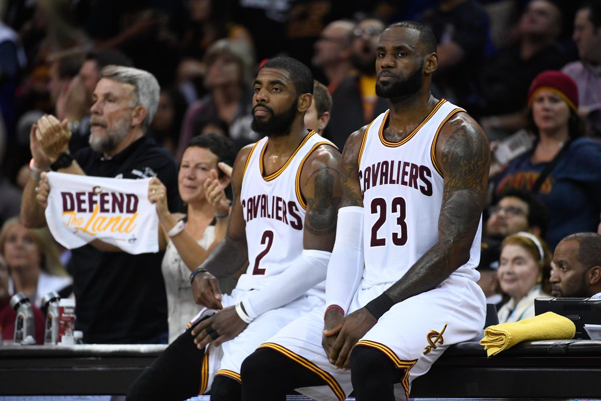 5d318248a LeBron James opens up on Kyrie Irving trade saga - Fear The Sword