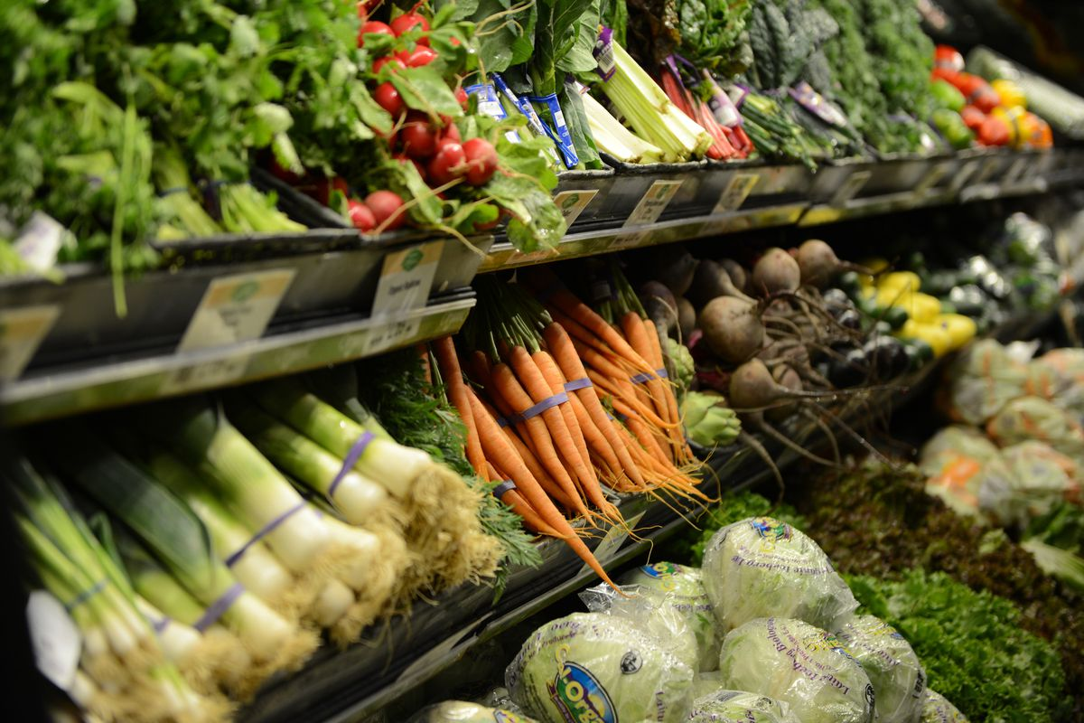 Fresh produce at Wegmans in Collegeville. The store recently won Large Business of the Year in the Perkiomen Valley Star Awards. For BW. Perkiomen Valley Star Awards Wegmans by Lauren A. Little 4/25/2016