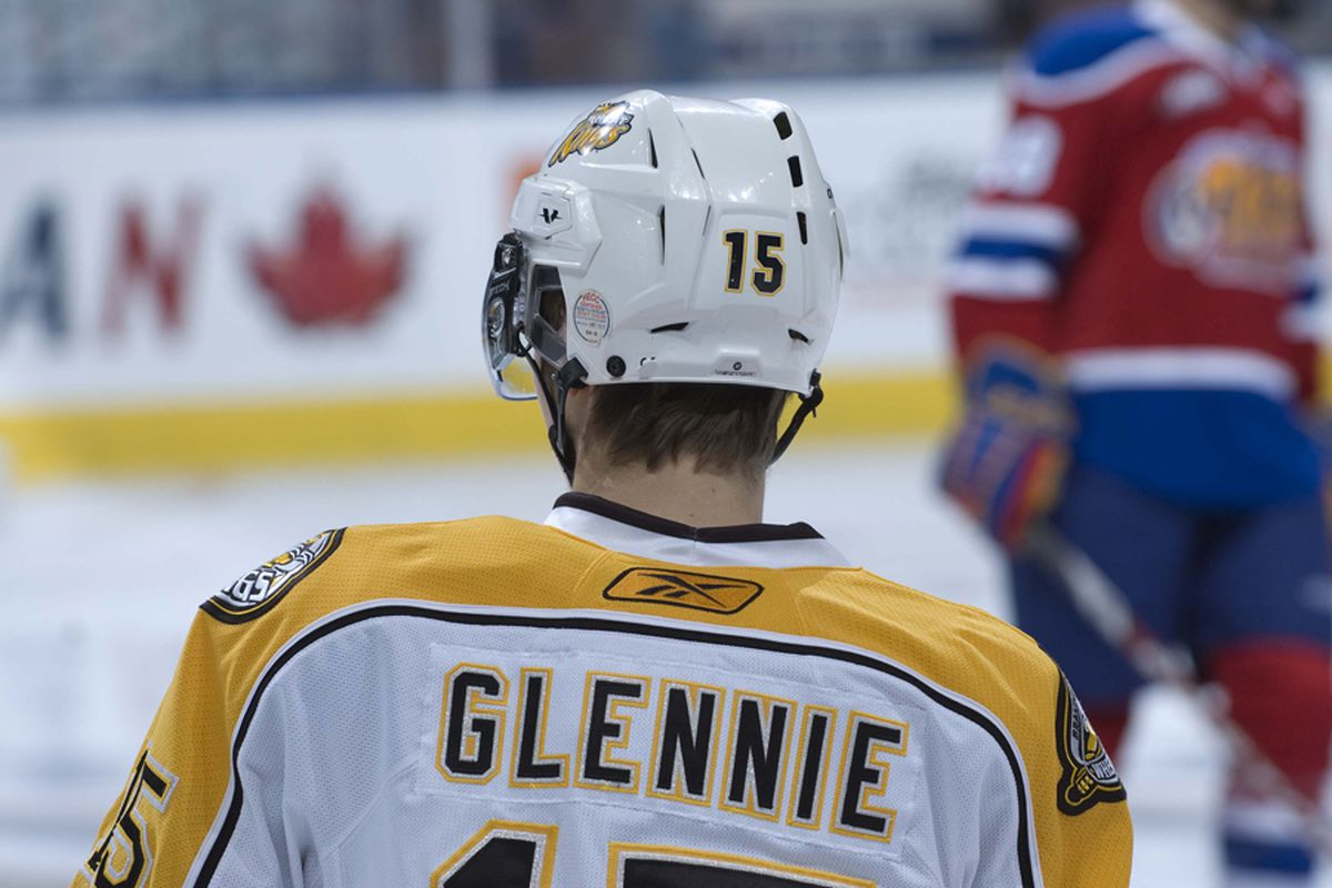 Former 8th overall pick Scott Glennie is slowly starting to pick up his game in Brandon.