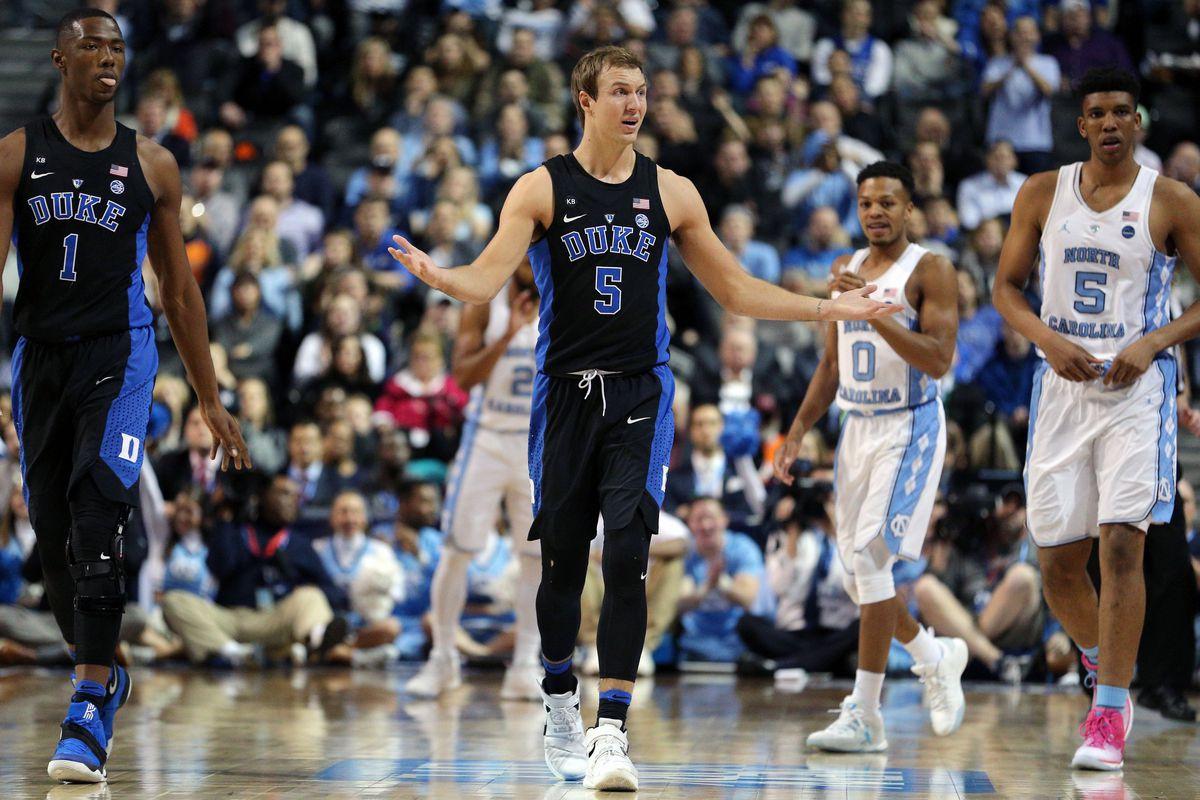 The Milwaukee Bucks select Luke Kennard from Duke with the No. 17 overall pick in the Blazer's Edge 2017 NBA Mock Draft.