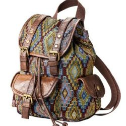 """<b>Mossimo Supply Co.</b> Tapestry Print Backpack, <a href=""""http://www.target.com/p/mossimo-supply-co-tapestry-print-backpack/-/A-14087443#?lnk=sc_qi_detailbutton"""">$24.99</a> at Target"""