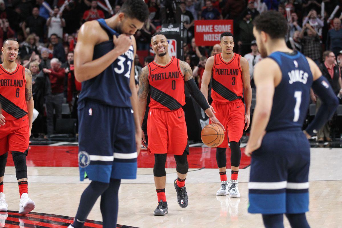 NBA: Minnesota Timberwolves at Portland Trail Blazers