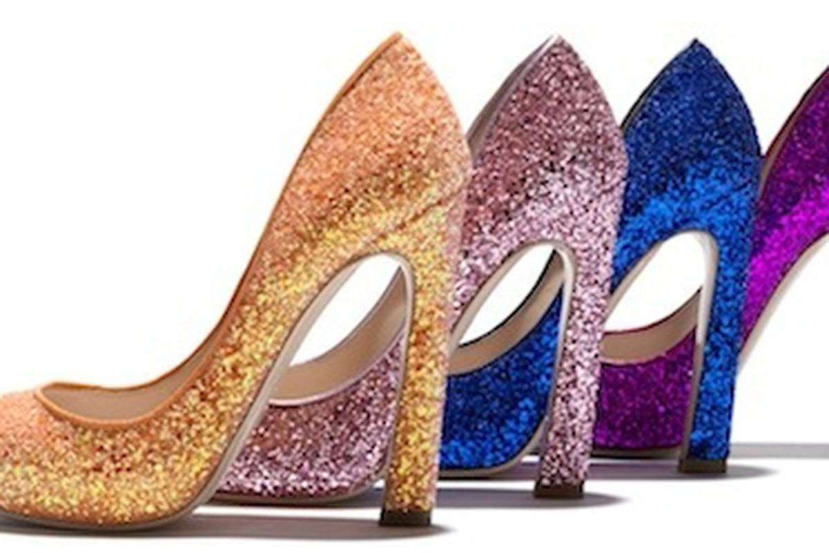 """There's no place like my closet. Click, click.  Image via <a href=""""http://racked.com/archives/2011/09/21/this-falls-incarnation-of-miu-mius-glitter-pumps-now-in-stores.php"""">Racked NTL</a>"""