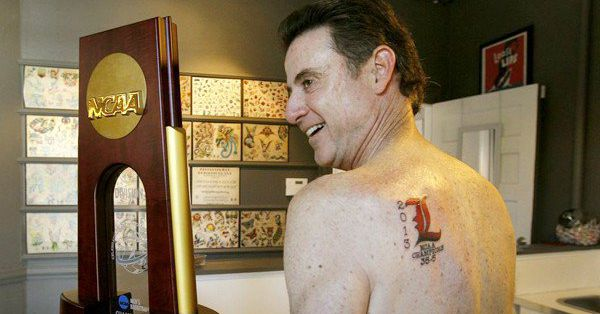 Rick pitino s tattoo artist is happy to help him vacate for Louisville tattoo artists