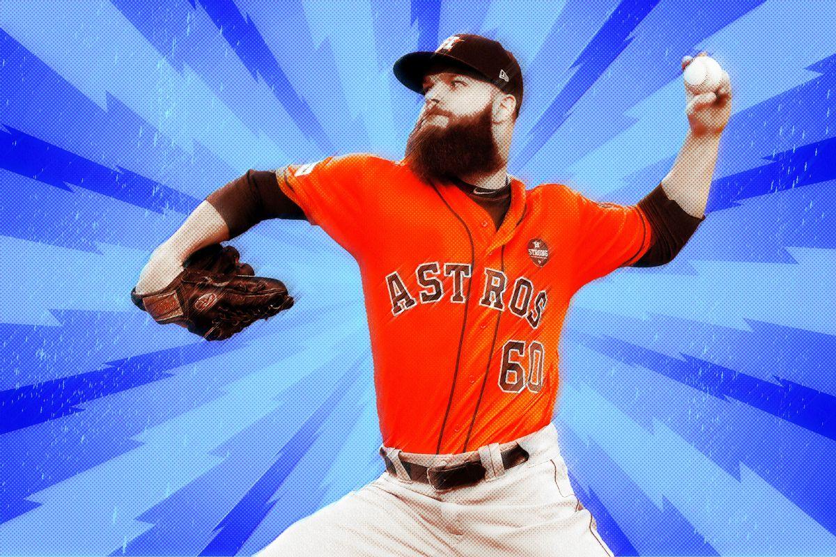 L.A. Dodgers Look Like Astros Pitcher Dallas Keuchel s Kryptonite ... 825aee7cc553