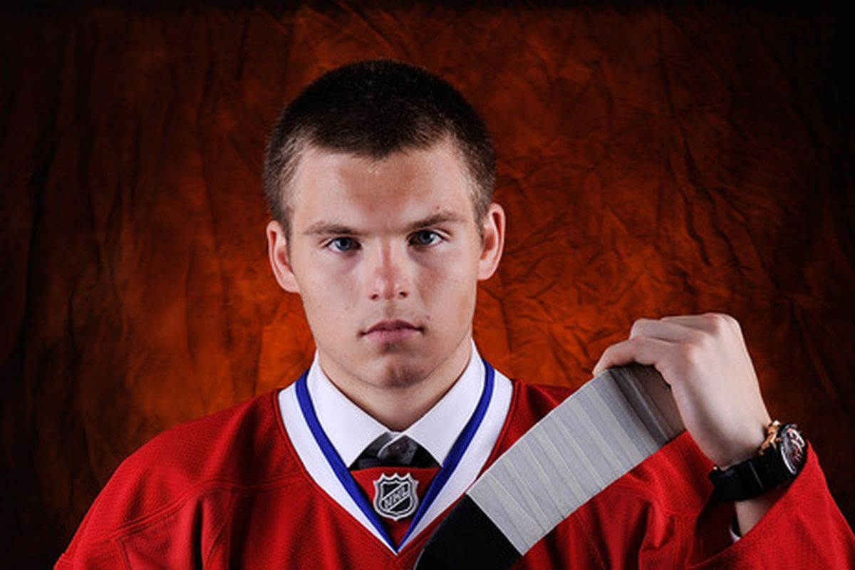 Last year's third overall pick Alex Galchenyuk will be expected to lead Team USA's forwards