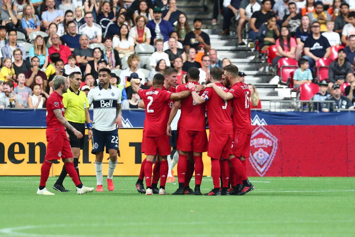 SOCCER: MAY 31 MLS - Toronto FC at Vancouver Whitecaps