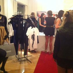 Stylehaus' Summer Style Lab inside the Mondrian. Check out the James Goldstein tees!