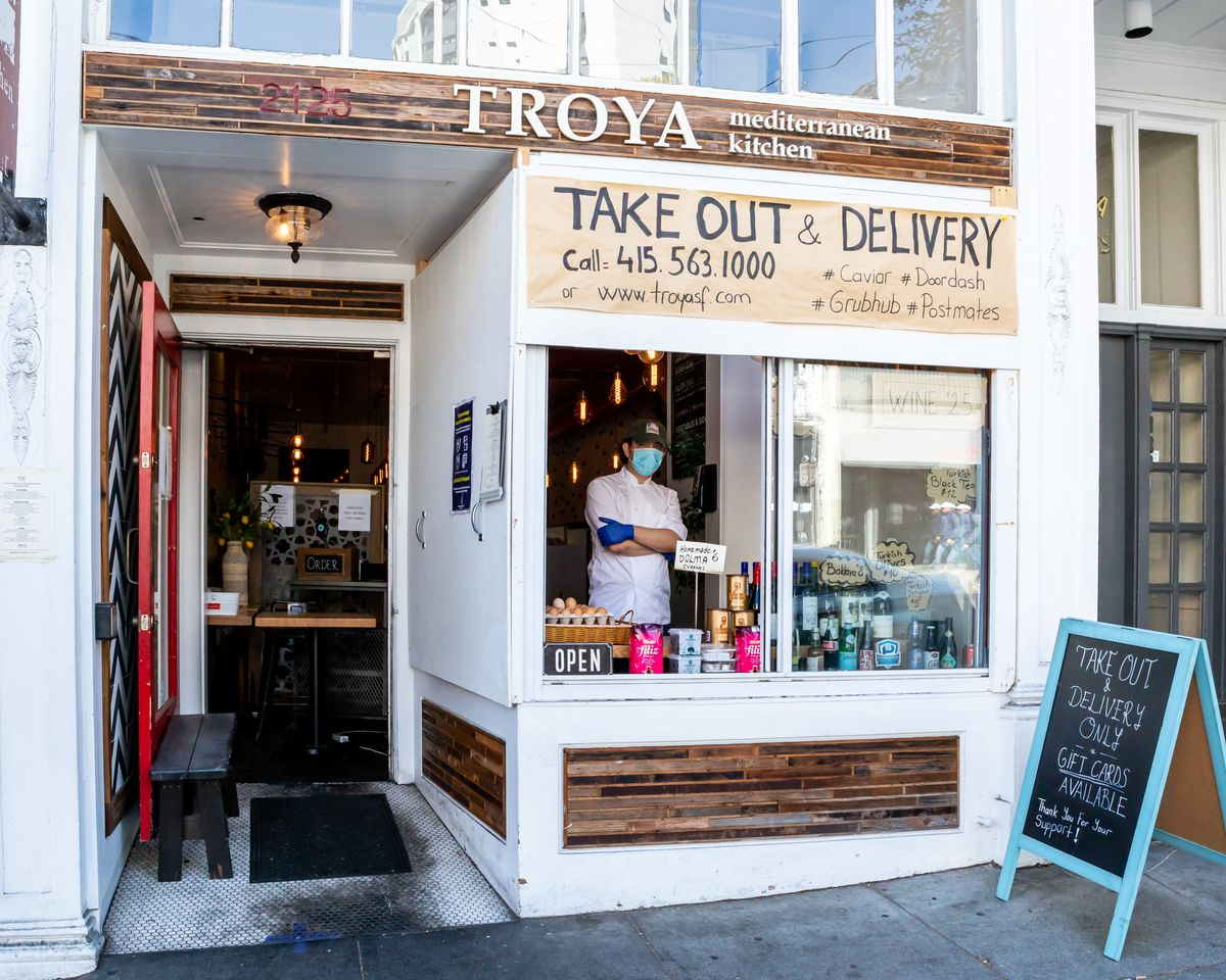 Troya is now operating a little Turkish market